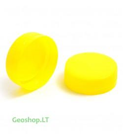 FTF geltonas PET mikro konteinerio kamštelis, 5L ruošiniui, XXL