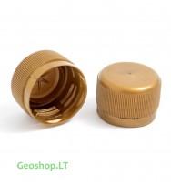 FTF aukso spalvos PET mikro konteinerio kamštelis (ilgas)