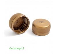 PET mikro konteinerio kamštelis aukso spalvos (trumpas)