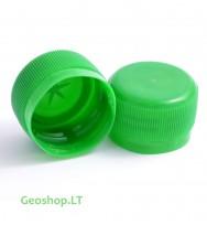 FTF žalias PET mikro konteinerio kamštelis (ilgas)