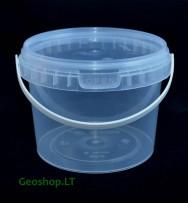 0,5 L talpos kibirėlis, tradicinis konteineris