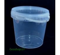 1 L talpos kibirėlis, tradicinis konteineris