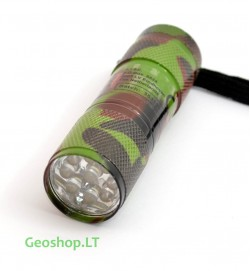 LED Žibintuvėlis, Camo