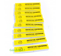 10 pcs PET logbooks for geocache container