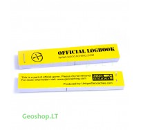 1 pcs PET logbooks for geocache container