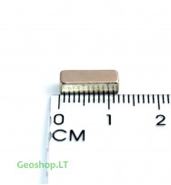 Neodimo magnetas N35 12x4x4