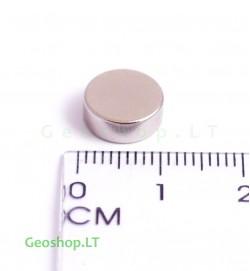 Neodimo magnetas, apvalus, N35 D10x4