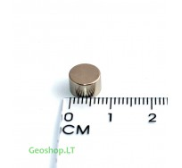Neodimo magnetas, apvalus, N35 D8x5