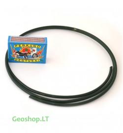 Cinkuota viela su žaliu PVC apvalkalu, D3,1/3,8 mm