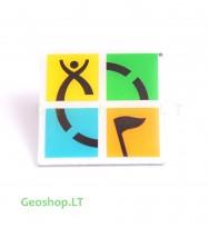 Geocaching logo ženkliukas