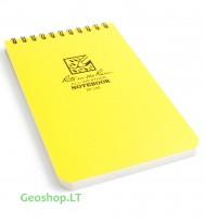Rite in the Rain užrašų knygelė No146,  4x6 geltona