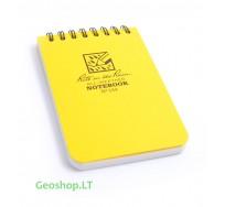 Vidutinė Rite in the Rain užrašų knygelė No135, geltona, 3x5