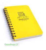 Vidutinė Rite in the Rain užrašų knygelė No393-M, geltona