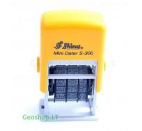 Antspaudas - datatorius Shiny Mini Dater S-300 (MMM-MM-DD)