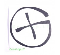 "Lipdukas - geocaching simbolis ""G"""