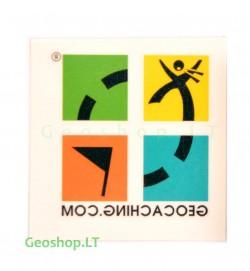 Tatuiruotė - geocaching logotipas