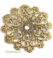 Kaldinta gėlė, bronzos spalvos