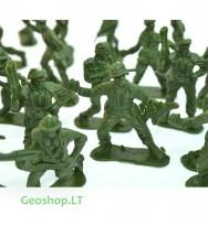 Plastikiniai kareivėliai, 10 vnt