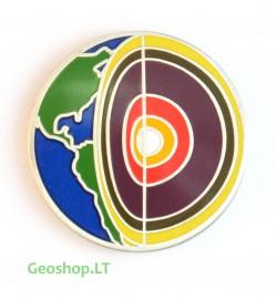 Mikro geomoneta - keturi elementai (vėjas)