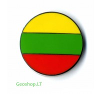 Lietuvos vėliavos mikro geomoneta