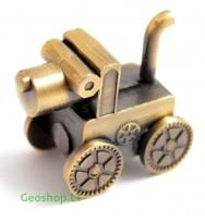 Steampunk Šuns geomoneta