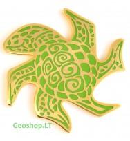 Vėžliukas (Geoswag, žalias)  - Geomoneta