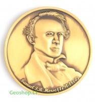 Samuelio Morzės geomoneta, Bronzos spalvos